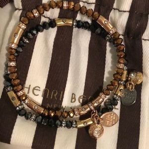 Henri Bendel set of bracelets